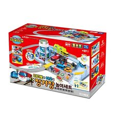 Tayo The Little Bus and Titipo Train Railway Station Play Set