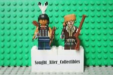 LEGO Frontiersman Daniel Boone and Mingo NEW 100% Genuine LEGO READ