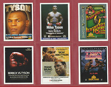 SPORTING PROFILES - SET OF 30 BOXING CARDS  -  ' IRON '  MIKE  TYSON  -  2004