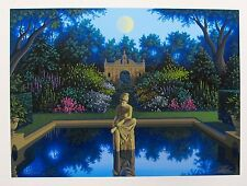 """JIM BUCKELS """"VALE OF ENNA"""" Hand Signed Limited Edition Serigraph Art"""