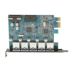 Superspeed 5 Ports PCI-E to USB 3.0 Expansion Card PCI Express Internal