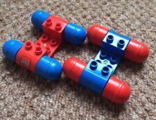 Lego Duplo vintage Vehicle Car Crane Wheels Rollers Spare Parts