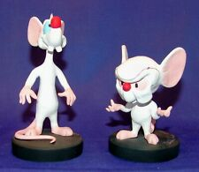 David Kracov Pinky and the Brain Checker Figurines Signed and Numbered