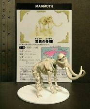 RARE Cosmoland (Like Kaiyodo) Woolly Mammoth Skelton Dinosaur Figure Model