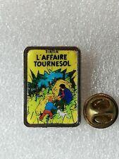 Pin's Pins Tintin et Milou bd Hergé comic strip l'affaire tournesol