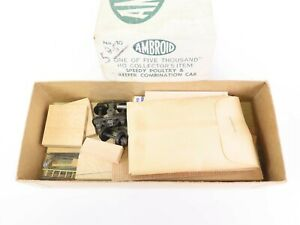 HO Scale Ambroid Kit #10 Speedy Poultry & Reefer Combination w/ Ambroid Glue