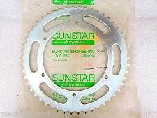Sunstar NOS NEW Kawasaki K-1006SR Rear Sprocket 50T KX KDX KLX KX500 1978-2013