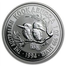 Australia $ 1 Kookaburra 1994 1 oz .999 Silver Coin
