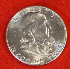 1961-D 50C FRANKLIN HALF DOLLAR BU BEAUTIFUL COIN CHECK OUT STORE FH358