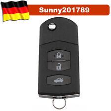 Auto Klapp Schlüssel Gehäuse MAZDA 3 5 6 CX5 CX7 CX9 RX8 FERNBEDIENUNG 3 Tasten