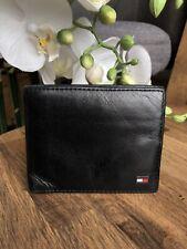 Men's Leather Wallet 'Tommy Hilfiger' Bifold Black