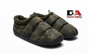 Nash Camo Deluxe Bivvy Slippers New Ideal Gift Fishing Clothing