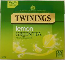 Twinings Green Tea Lemon 80 Tea Bags 160G
