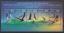 CHRISTMAS IS 1993 SEABIRDS of CHRISTMAS ISLAND Souvenir Sheet MNH