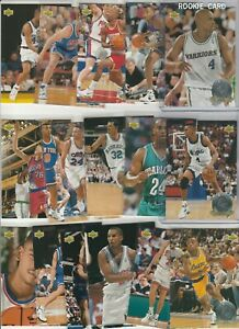 90'S INSERTS LOT (16/20) 1993-94 UPPER DECK ROOKIE STANDOUTS PENNY WEBBER RC
