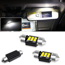 1Pair 31MM LED Interior Dome Reading Light Bulb for Toyota Camry Collora Tacoma