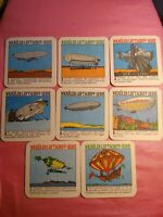 """Vintage Coasters German Souvenir Paper 3"""" Drink Coasters collector Beer coasters"""