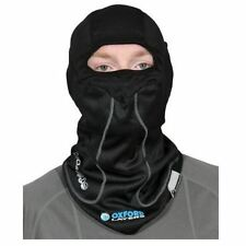 Oxford Chillout Motorcycle Motorbike Balaclava Windproof Black Large New