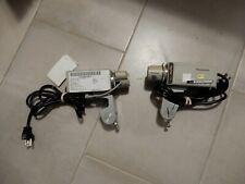 Lot of 2 Panasonic Wv-Cp410 Digital Color Cctv Cameras w/ lenses Securtiy