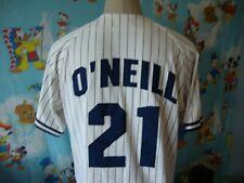 Vintage 90's New York Yankees Paul O'Neill Starter Pinstripe Jersey M