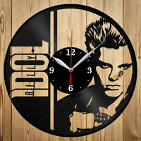 Details about  /LED Clock Horse Racing Vinyl Record Wall Clock Led Light Wall Clock 2796