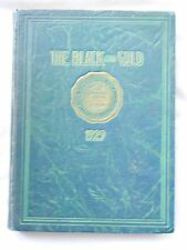 1929 MCKINLEY HIGH SCHOOL YEARBOOK HONOLULU, HAWAII THE BLACK AND GOLD UNMARKED!