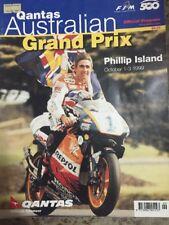 1999 AUSTRALIAN MOTORCYCLE GP  RACE PROGRAMME MOTOGP DOOHAN  ROSSI WEST
