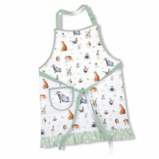 BNWT -  Pimpernel WRENDALE DESIGNS The Country Set Cotton APRON Animals Wildlife
