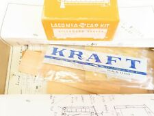 HO Scale Laconia Wood Kit WRX Kraft Cheese-Mayonnaise Billboard Reefer #11153