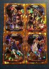 2020-21 Prizm Basketball ORANGE ICE PRIZMS Parallels 1-250 You Pick