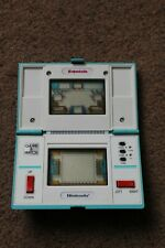 NINTENDO GAME WATCH SQUISH MG-61 1986 TESTED GOOD CONDITION WITH FILM INTACT