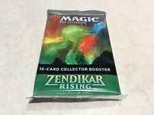 1 Zendikar Rising Collector Booster NEUF NEW SCELLE MTG !!