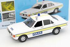 VANGUARDS 1/43 FORD GRANADA MKI POLICE #VA05207 AVEC SA BOITE