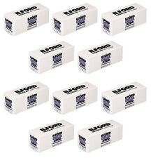 10 Rolls- Ilford Delta 3200 120 Film Black & White Professional Exp: 10/2018 USA
