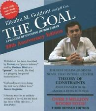 The Goal : A Process of Ongoing Improvement by Eliyahu M. Goldratt (2006, CD, R…
