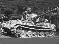 WW2 Photo German Tiger II Tank Panzer VI  WWII World War Two Wehrmacht Germany
