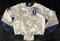 Vintage Chalk Line NFL Troy Aikman Dallas Cowboys Fanimation Jacket Mens Size S