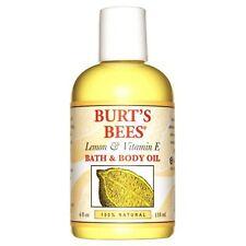 100% Limon Natural Y Vitamina E Aceite Para El Cuerpo Y El Bano - Botella De 4