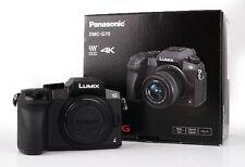 Panasonic Lumix DMC-G70 G 70 Gehäuse Body Ausstellung Panasonic-Fachhändler