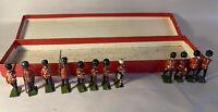 Vintage Britians Ltd 12 Lead Toy British Soldiers -4 Missing Arm/Drum