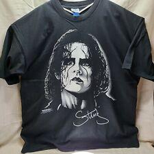 WCW STING Vintage T Shirt 1998 Black and White WCW Shirt