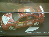 MAG LT02  ALTAYA IXO,Mitsubishi Lancer Evolution V1 Rally Monte Carlo 1:43 SCALE