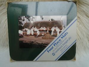 Landmark Images Table Place Mats x4 Made in Britain Sealed