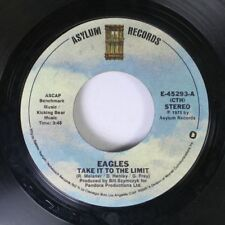 Rock 45 Eagles - Take It To The Limit / After The Thrill Is Gone On Asylum