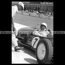 #pha.016560 Photo STIRLING MOSS LOTUS CLIMAX GP F1 NURBURGRING 1961 Car Auto