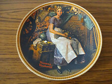 Knowles China Collectors Plate: Dreaming in the Attic: Norman Rockwell