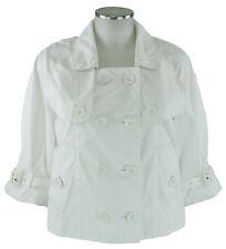 Burberry Jacke, Kurzmantel weiß 38 (D) 10 (UK) coat windbreaker Jacket wie neu