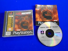 ps1 MORTAL KOMBAT TRILOGY COMPLETE *C PAL ps2 ps3 Fighting Game Playstation