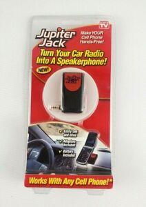 TeleBrands Jupiter Jack Turns a Car Radio into A speakerphone W/ 6 Adapters