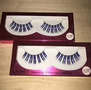 NYX FUNKLICIOUS LASHES SPECIAL EFFECTS LASHES EL183 ARCTIC ICE 2 PACK